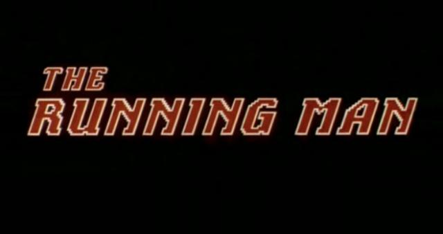 running man - title